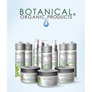 botanical organic products catalogue